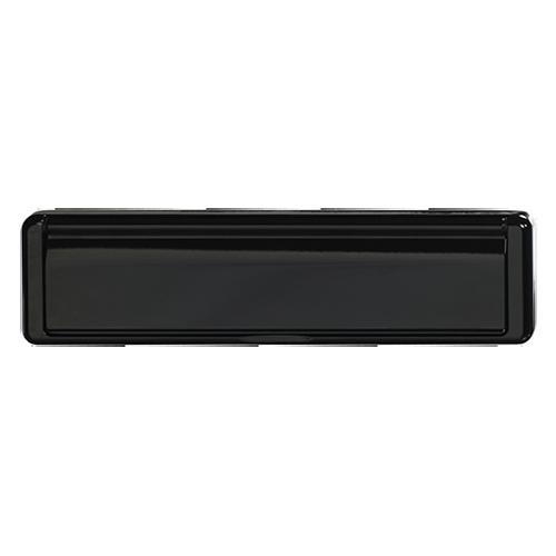 Ultimate Windows, Bespoke Door Furniture, Black Letter Box