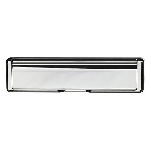 Ultimate Windows, Bespoke Door Furniture, Chrome Letter Box