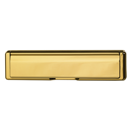 Ultimate Windows, Bespoke Door Furniture, Gold Letter Box
