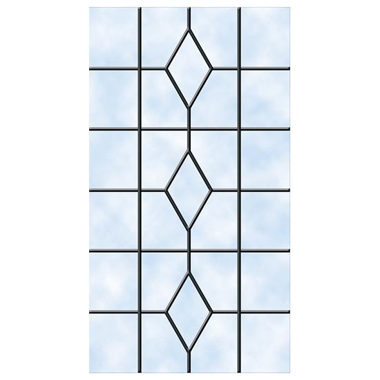 Ultimate Collection, Bespoke Doors, Queen Caroline Glazing Pattern