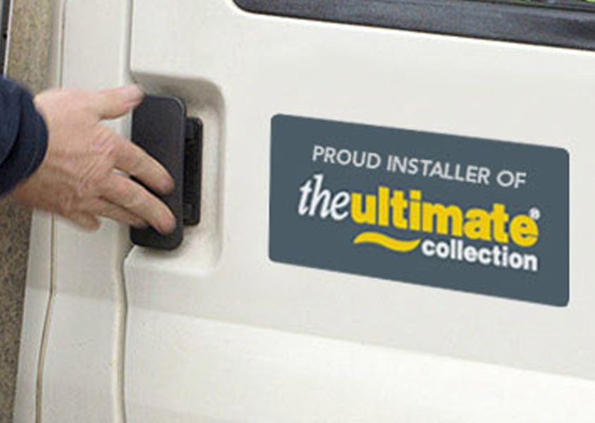 60 seconds with an Ultimate window fitter